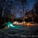 五光牧場オートキャンプ場でおっさん雪中キャンプ2020!③