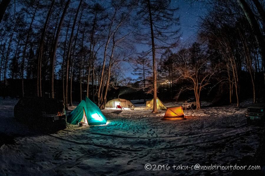 おっさんだけで行った五光牧場オートキャンプ場での星空とテント