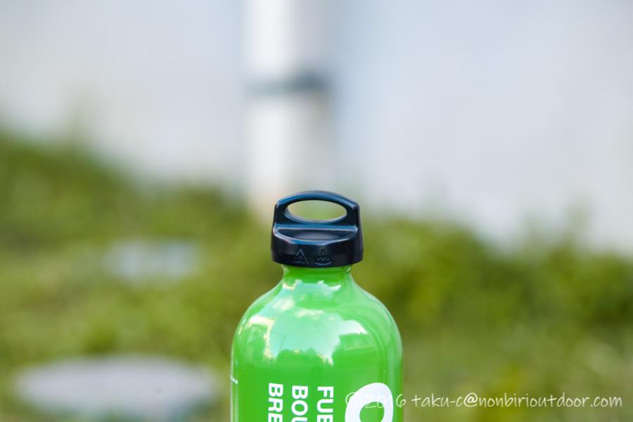 キャンプで使う灯油をOPTIMUSの燃料ボトルXLに入れる