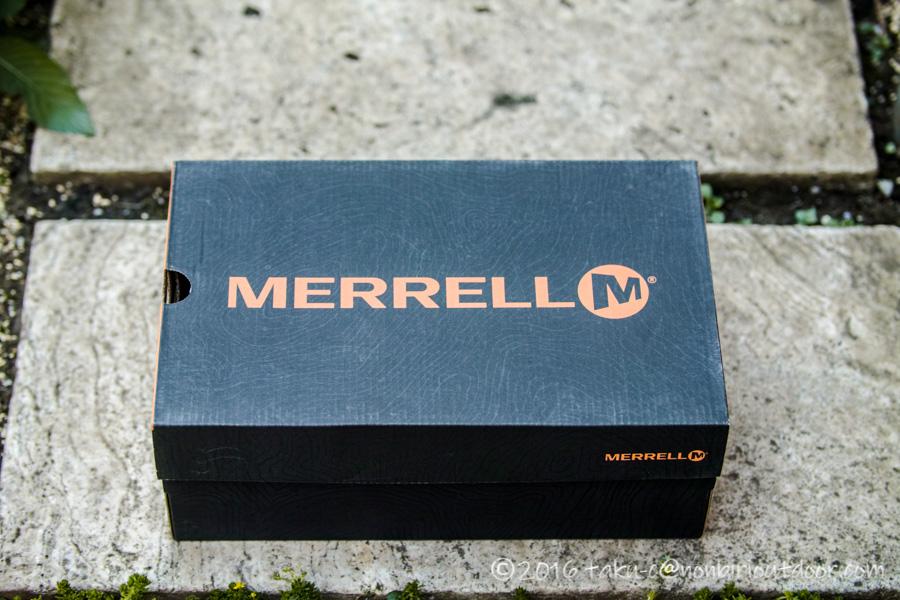 メレル(MERRELL) の ハイドロモック(HYDRO MOC) オリーブドラブ(Olive Drab)のパッケージ