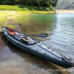 丹沢湖でカヤックの進水式!フジタカヌー アルピナ2 460で漕ぎ出そう~!