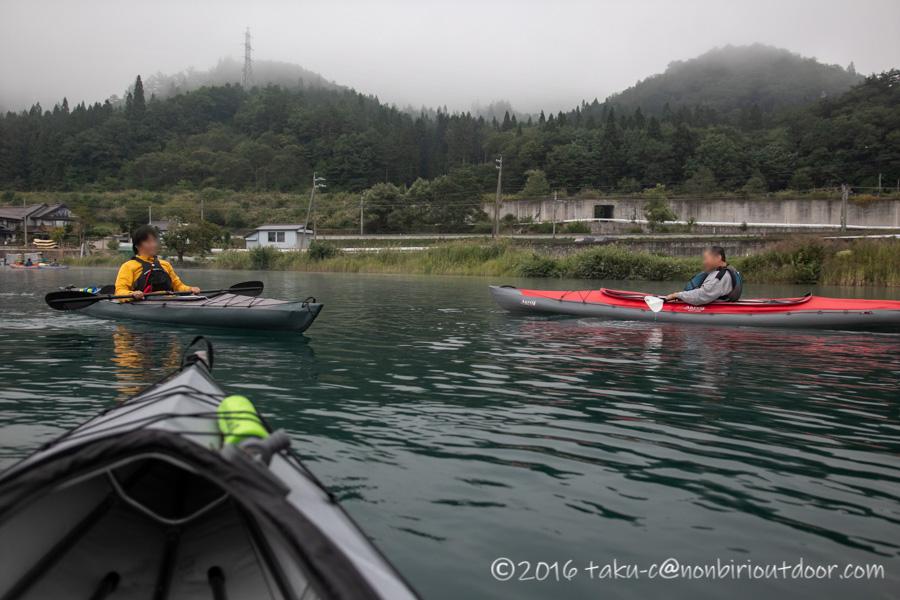 青木湖の湖上でナチュログブロガーとの出会い