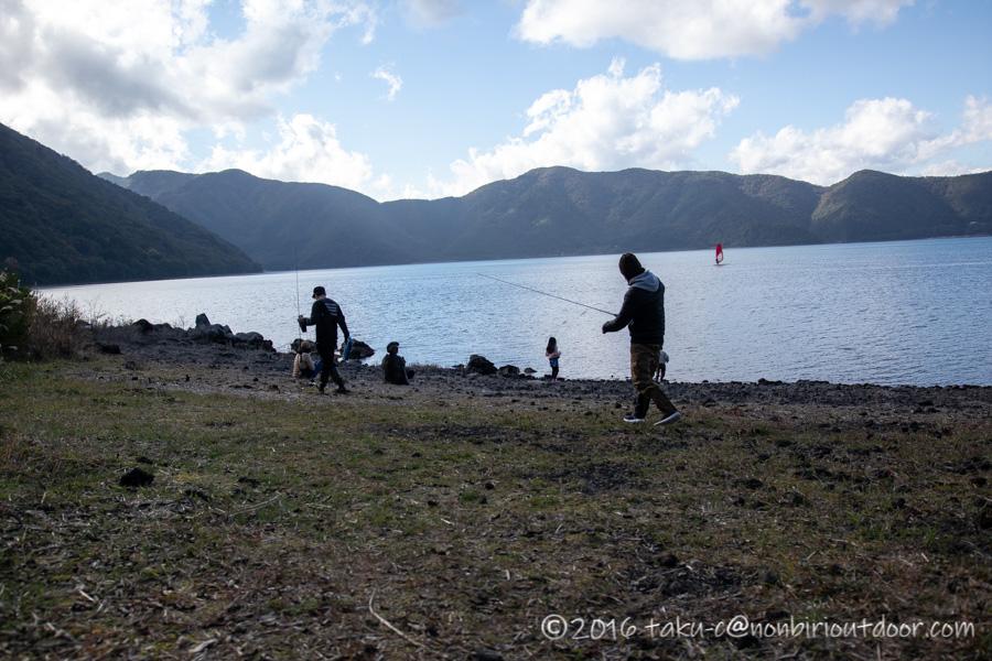 本栖湖で釣れないトップウォーター
