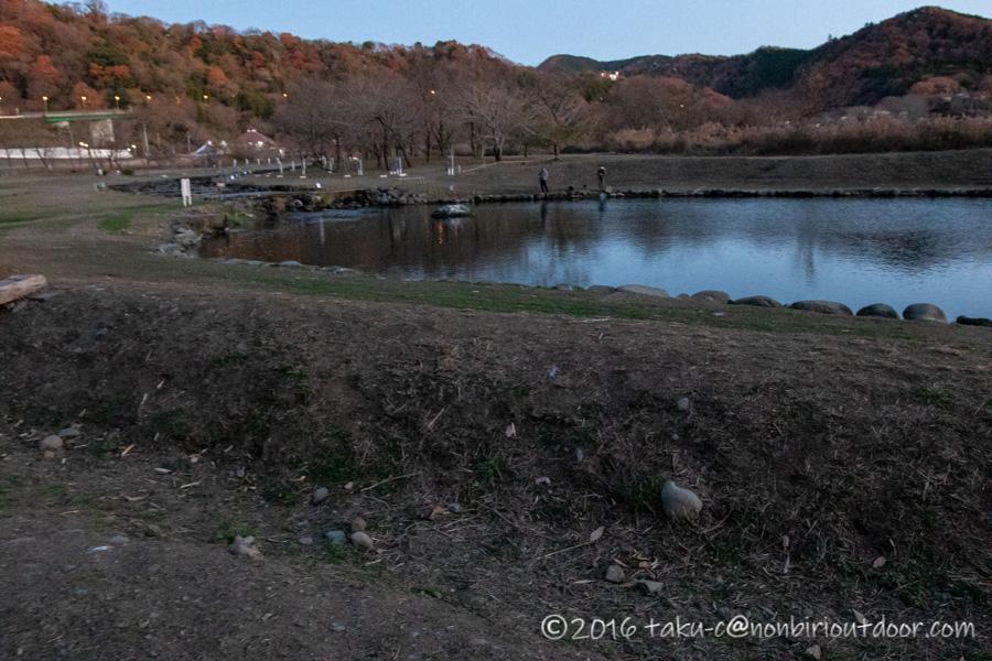 12月の朝のFF中津川