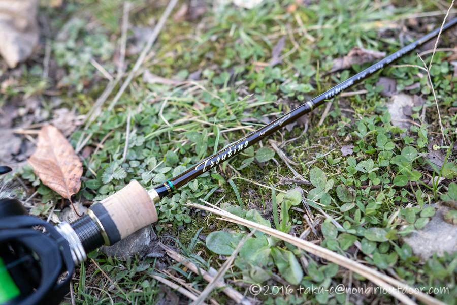 初の管理釣り場のFF中津川で8匹のマスを釣りあげたタックルはメジャークラフトとアブガルシア ロキサーニBF8のベイトフィネス