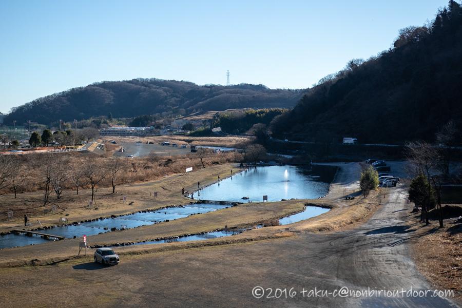 2021年1月のFF中津川の全景