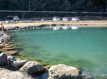 濁りのある2021年1月のFF中津川