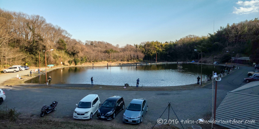 2021年2月3日のFish on 王禅寺のジロー池