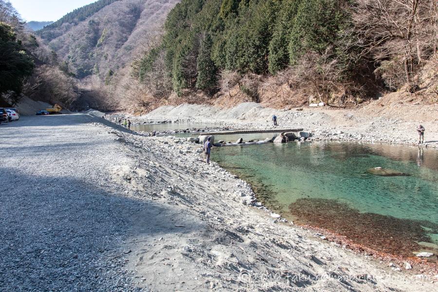 うらたんざわ渓流釣り場のルアーの釣り場