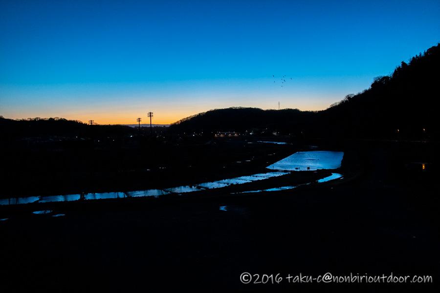 フィッシングフィールド中津川の朝