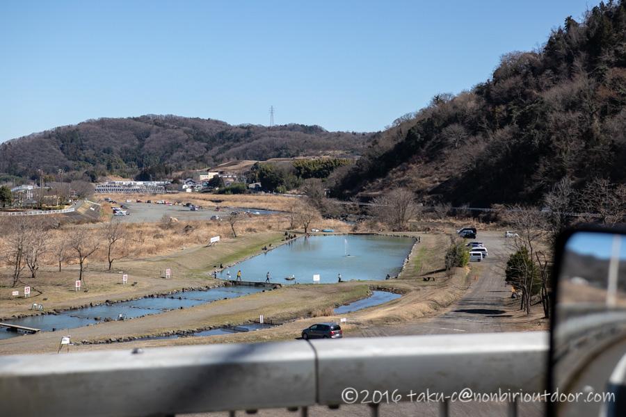 フィッシングフィールド中津川の全景