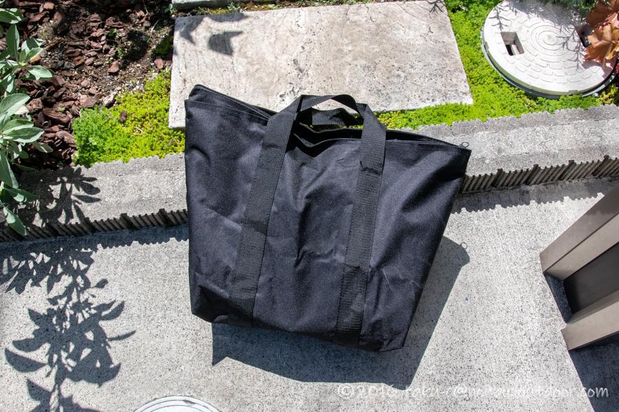 DCM ヘキサファイアピットの収納バッグ