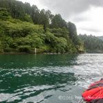 芦ノ湖にてフジタカヌーでジギングにチャレンジ!初のカヤックフィッシングですw
