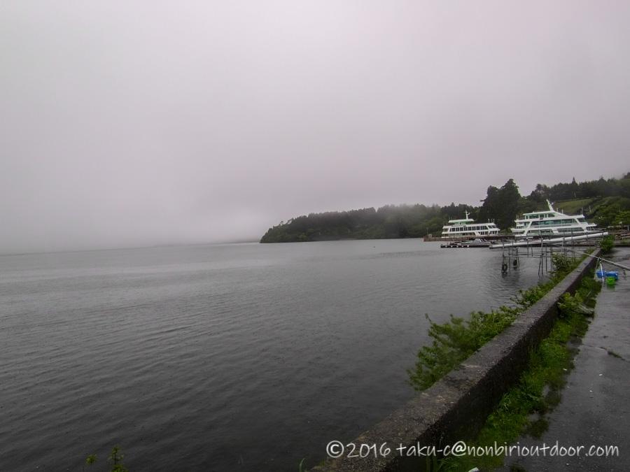 2021年5月19日の芦ノ湖の箱根港からのショアジギング