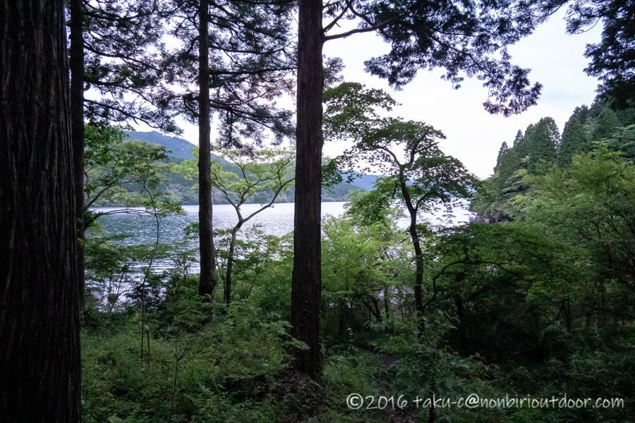 2021年6月23日の芦ノ湖でのレイクショアジギング