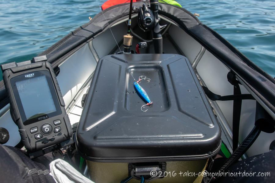2021年6月9日の芦ノ湖でジギング