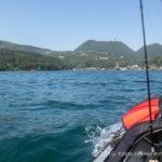 芦ノ湖でのカヤックからのジギング2回目!今回は風と波にやられる。。。