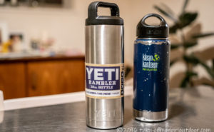 YETIの水筒!RAMBLER 18oz BOTTLEを買っちゃいましたw。