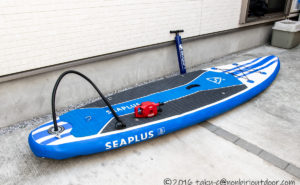 SEAPLUSというAmazonで売っているSUPを買いましたってお話。
